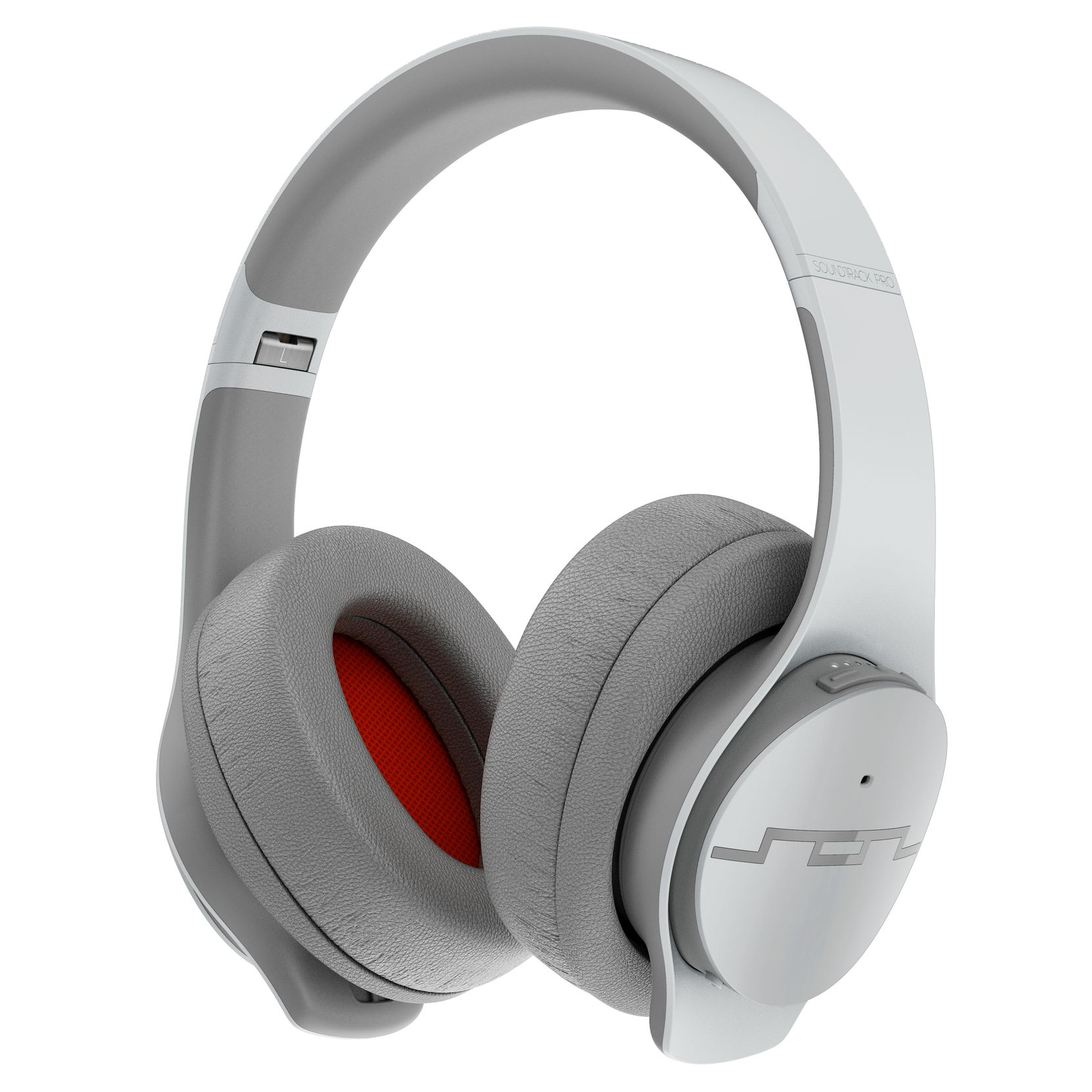 Sol Republic Soundtrack Pro headphones with active noise cancelling.