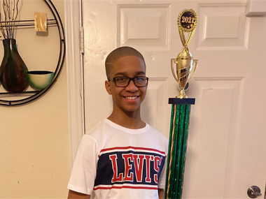 DeSoto ISD student Julius Hemphill II was crowned the 2021 District Spelling Bee champion.