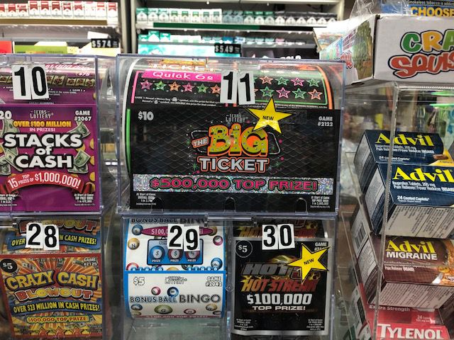 A Mesquite man won nearly $900,000 off a Texas Lottery scratch-off ticket.