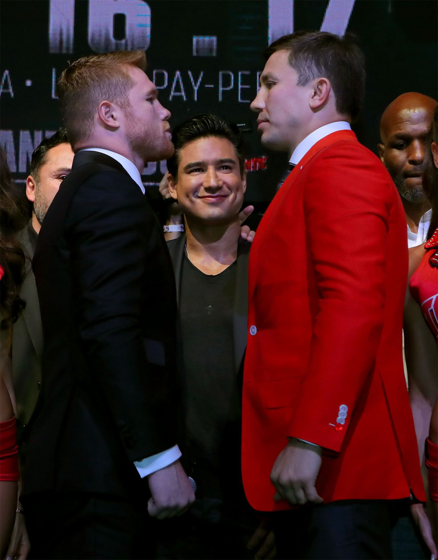 Canelo vs. GGG. Foto GOLDEN BOY PROMOTIONS.