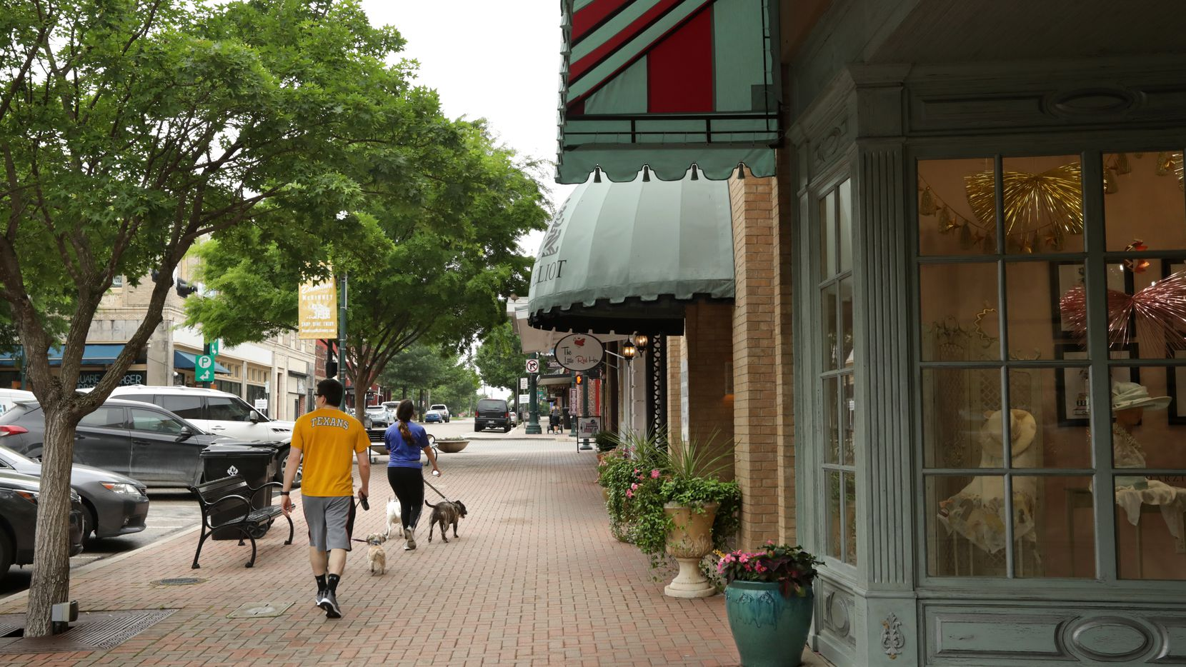 Downtown McKinney businesses have struggled during the pandemic to find qualified workers. (Jason Janik/Special Contributor)