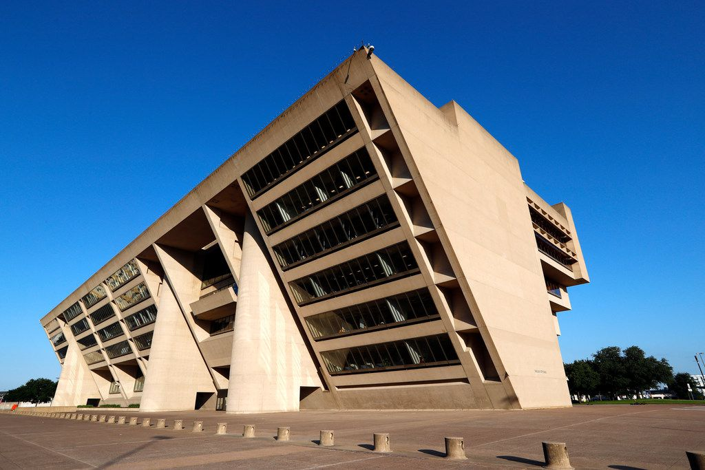 Dallas City Hall, a building designed by architect I.M. Pei.