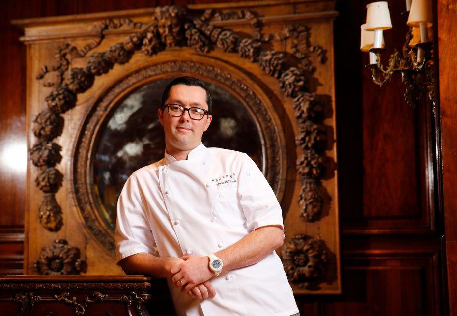 Michael Ehlert at the Adolphus Hotel