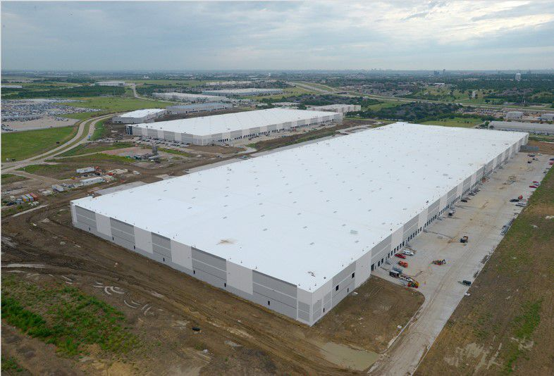 Uline is moving into the Passport Park industrial park in Irving.