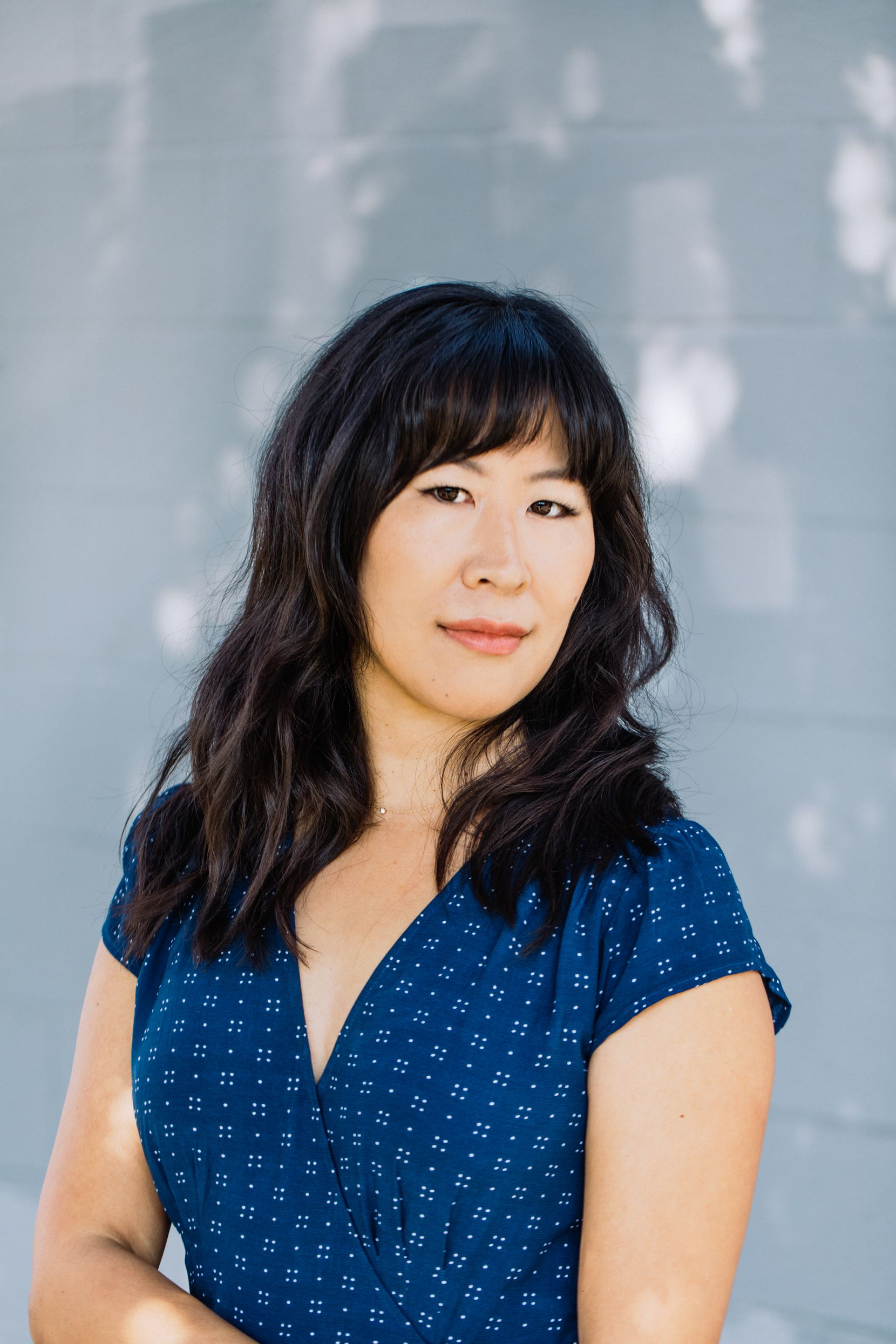"Nancy Jooyoun Kim set her debut novel, ""The Last Story of Mina Lee,"" in her hometown of Los Angeles."