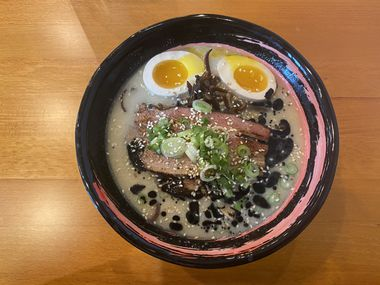 The tonkotsu at Kintaro in Arlington