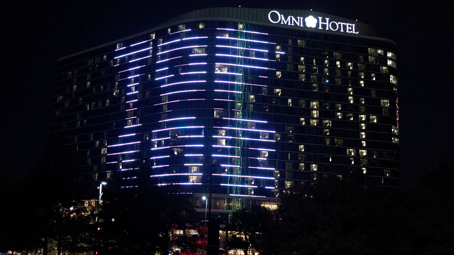 The Omni Dallas hotel helped celebrate the Top 100 Places to Work winners in 2016.