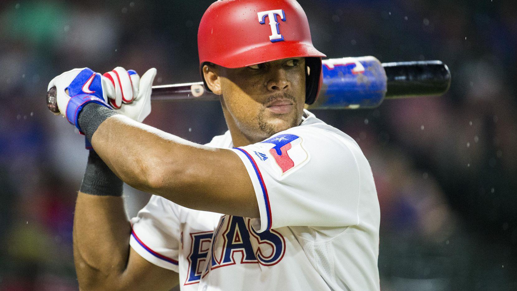 El pelotero dominicano Adrián Beltré y los Texas Rangers no enfrentarán a los Reds el martes, por mal clima. (DMN/Ashley Landis)