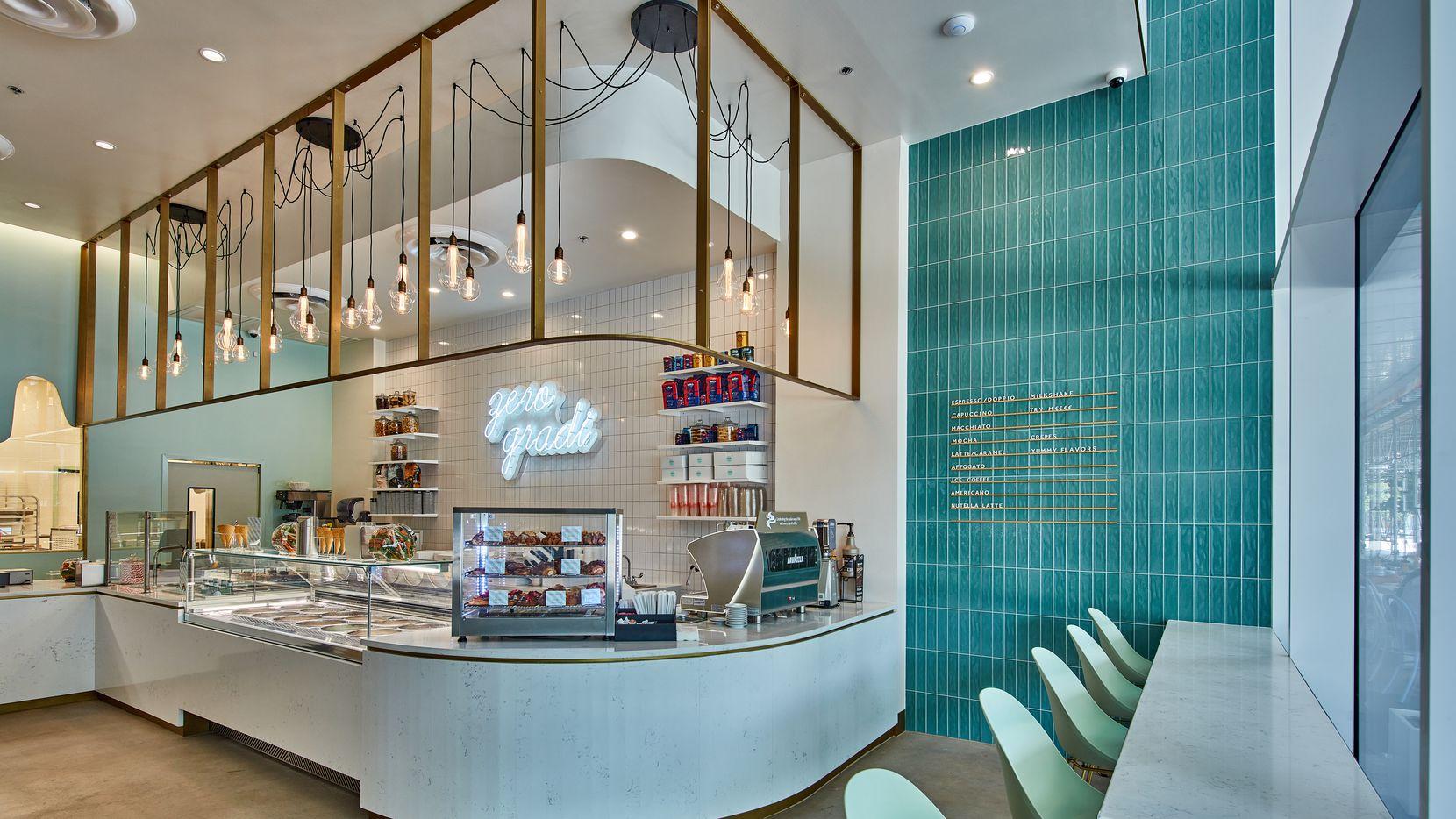 Zero Gradi Gelateria and Dessert Bar has opened in downtown Dallas.
