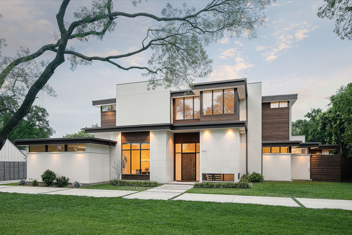 A look at the property at 4520 Northaven Road in Dallas