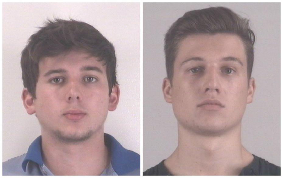 Christopher Thorne Barksdale (left) and Andrew Walker