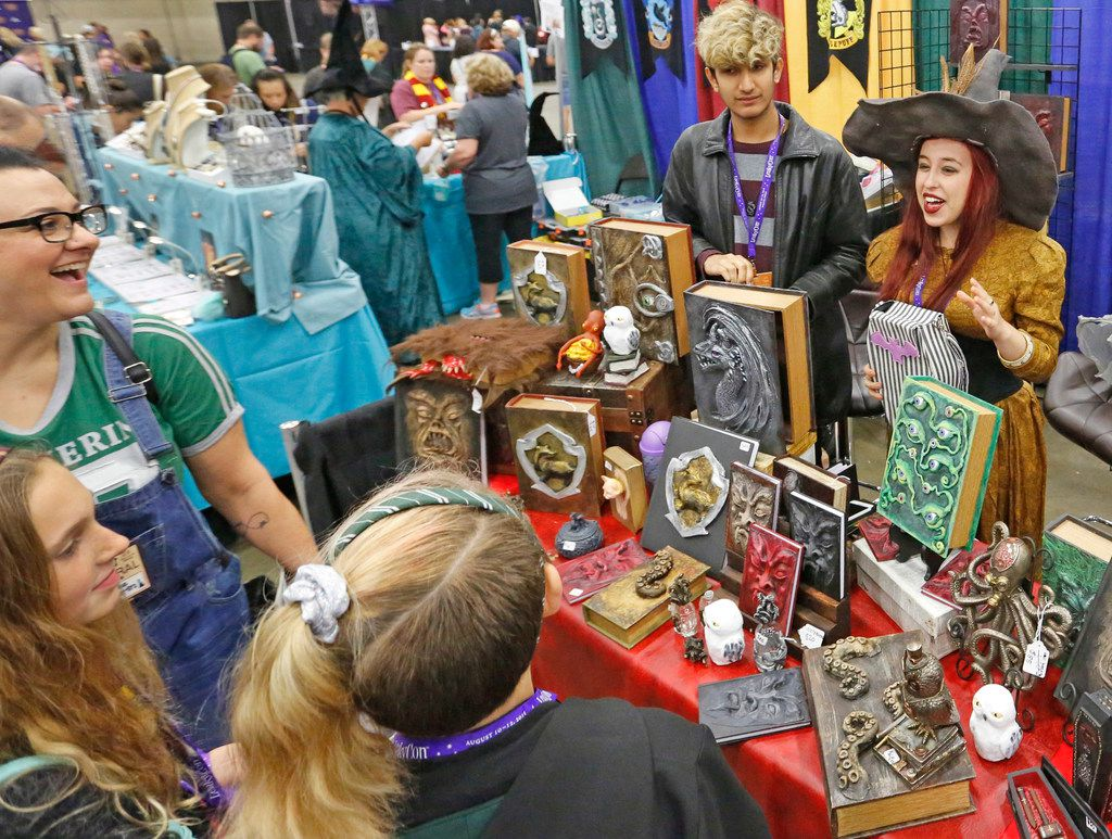 A variety of merchandise was available at LeakyCon.