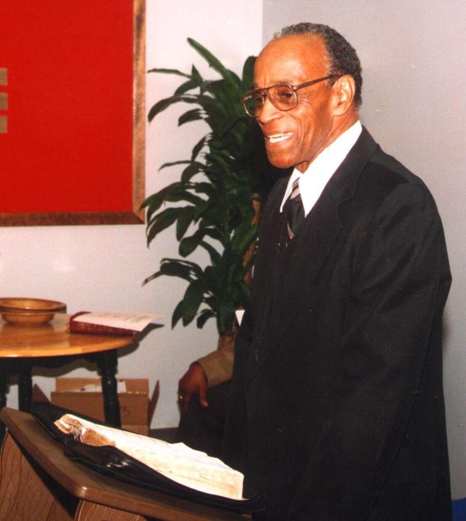 Rev. Jesse Borns Jr. was killed in 1999.