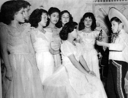 Trini Lopez performed during a St. Ann's Catholic School of Dallas play as a child.