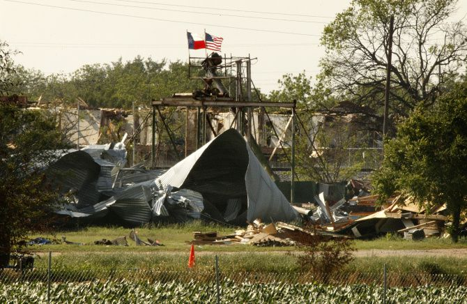 The West Fertilizer plant  lay in ruins Thursday.