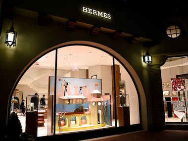 Highland Park Village has a two-level, 8,370-square-foot Hermès store.