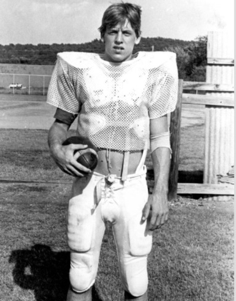 Teenager Troy Aikman's Henryetta High School typing teacher, Jean Froman, helped turn the football star into the state of Oklahoma's champion typist in 1983.