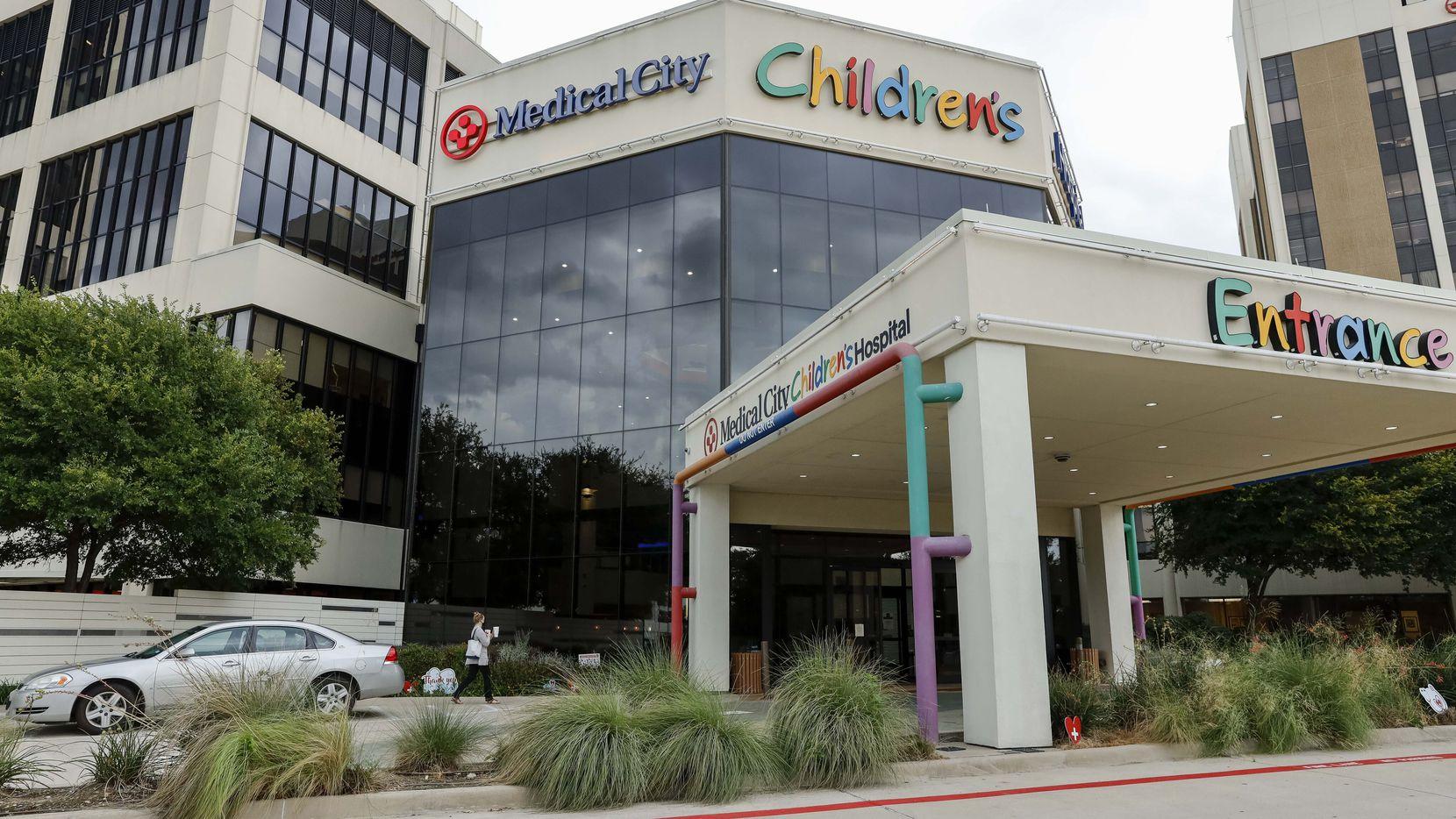 El Hospital Infantil Medical City, en Dallas, Texas, en una fotografía del 17 de agosto de 2021.