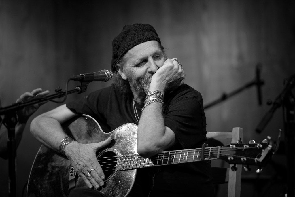 Singer-songwriter Jimmy LaFave performs at Threadgill's in Austin on Friday night, April 21, 2017.