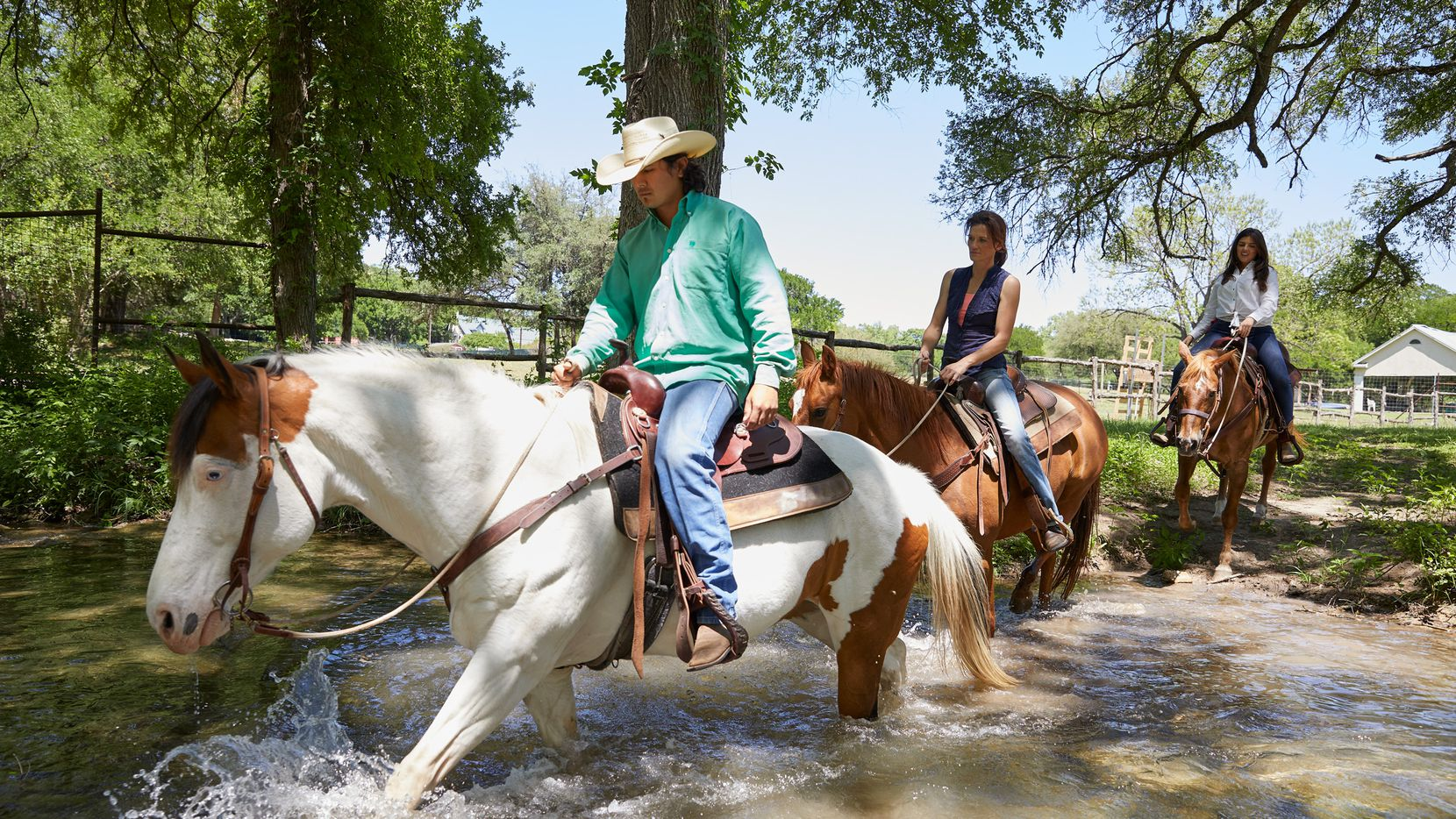 Therapeutic trail riding is one of the experiences offered at Miraval Austin.