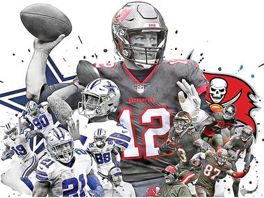 The Dallas Cowboys open the 2021 season against the defending champion Tampa Bay Buccaneers — a team that returns all starters from both sides of the ball.