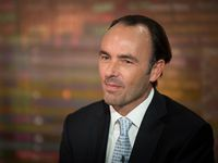 Kyle Bass shown in a previous Bloomberg TV interview in New York.