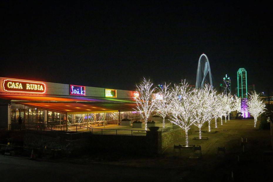 Trinity Groves, photographed on Dec. 30, 2013, was one of the hottest restaurant districts in Dallas at the time.