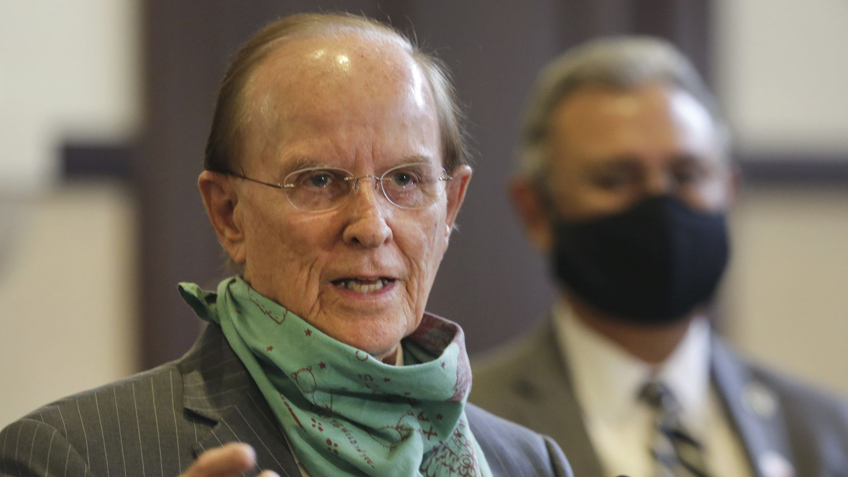 Bexar County Judge Nelson Wolff has cracked the code on how to circumvent Gov. Greg Abbott and require masks to contain coronavirus. On Wednesday, he announced San Antonio-area businesses will be fined if they don't require employees and visitors to wear masks when within six feet of one another.