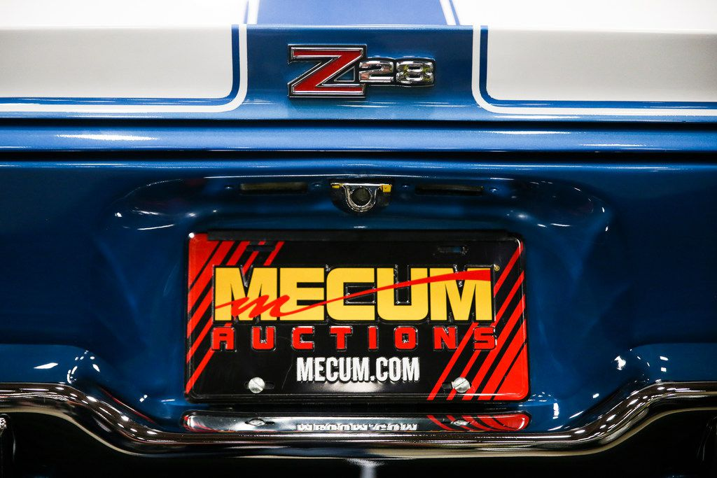 The Z28 Collection of Chevrolet Camaros is shown off prior to bidding during the Mecum Auction car auctions Friday, Oct. 5, 2018, at the Kay Bailey Hutchison Convention Center in Dallas.