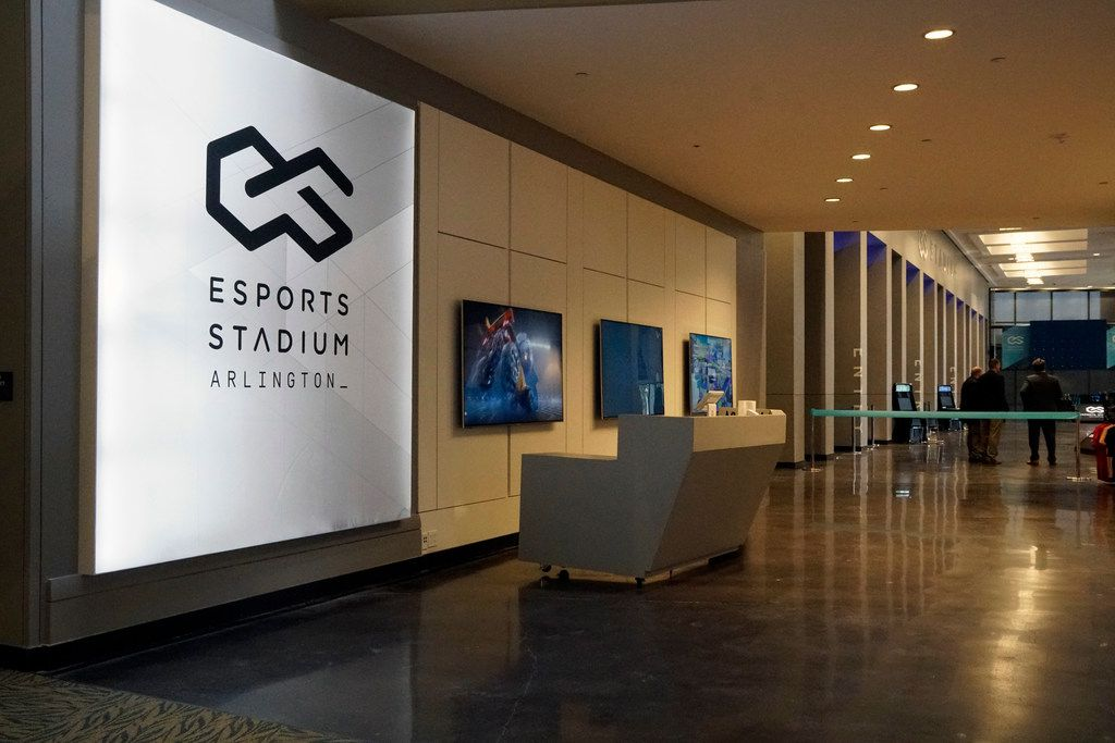 Esports Stadium Arlington will bring virtual gaming competitions to life with an audience of fans -- and thousands more who can stream online or with a virtual reality headset. (Lawrence Jenkins/Special Contributor)