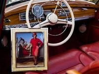 A rare 1959 Mercedes-Benz 300 D Cabriolet custom-ordered and owned by American jazz great Ella Fitzgerald is now for sale by California dealership Scott Grundfor Co. Fitzgerald once posed with the car for a famous photograph by Annie Leibovitz. A copy of the photo comes with the car.