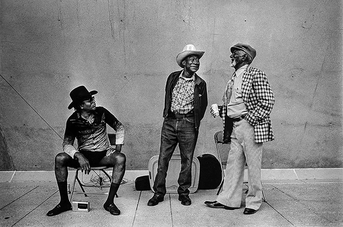 'Bluesmen' by Mark Graham is included in the new Photos for Meals project by Allison V. Smith and 1814 Magazine to raise funds for Meals on Wheels.