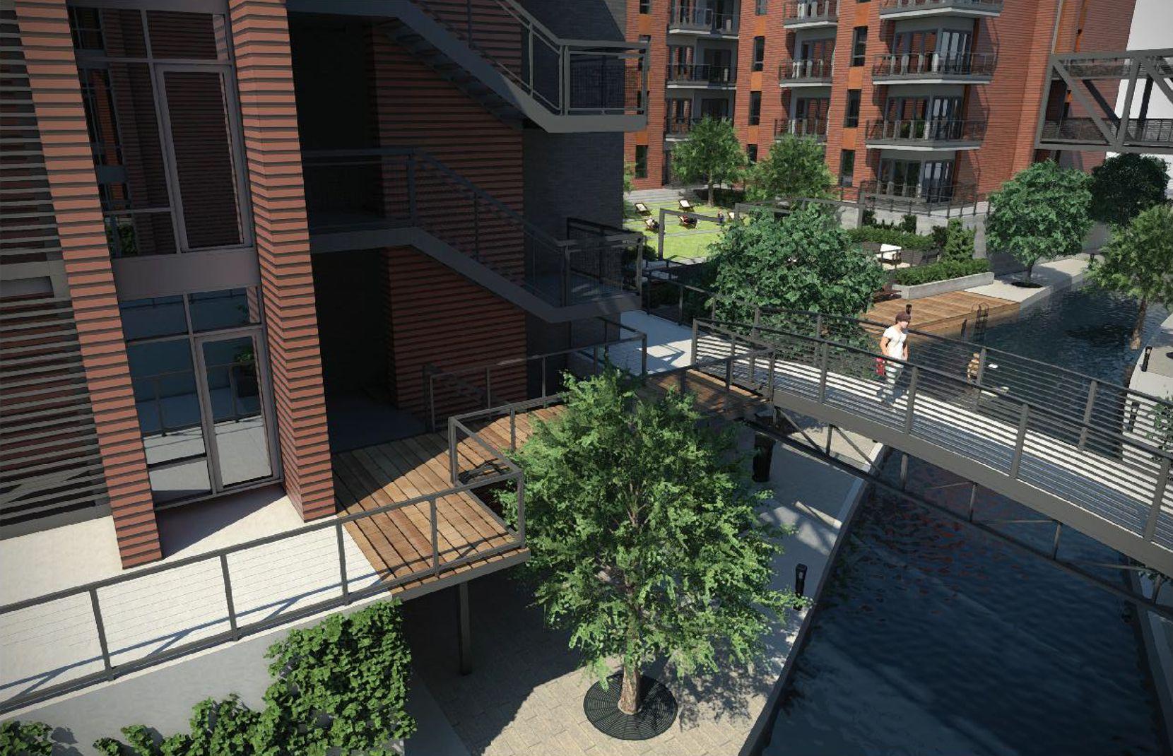 Encore's Riverwalk apartments will open in 2018.
