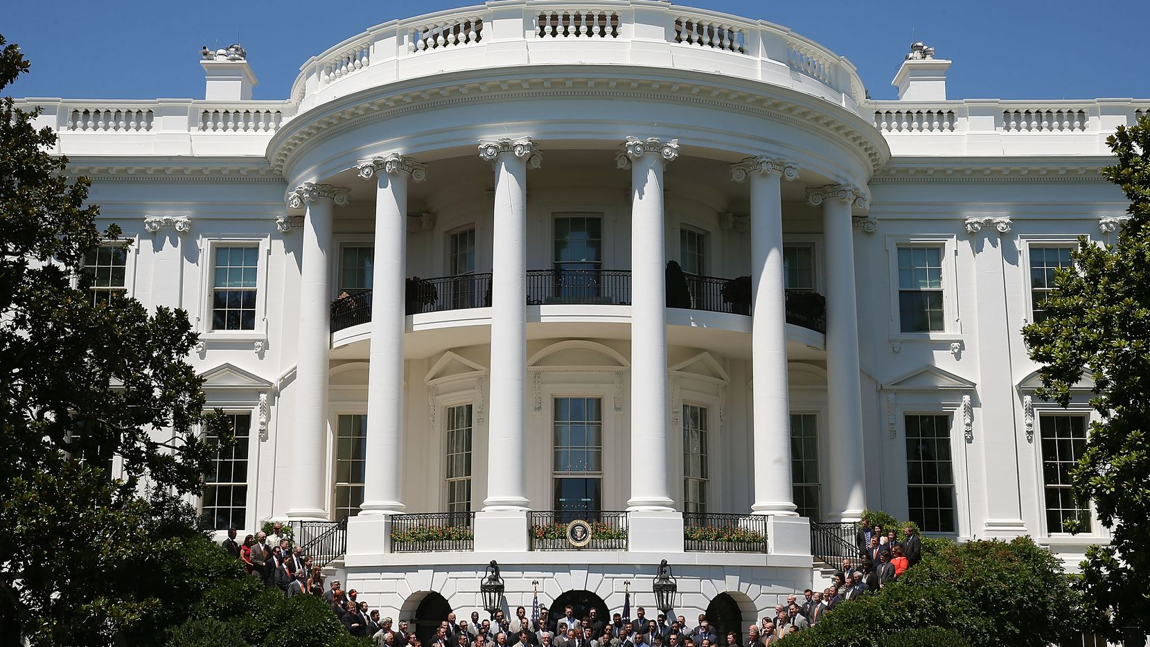 The White House is a classical style piece of architecture. (2013 File Photo)