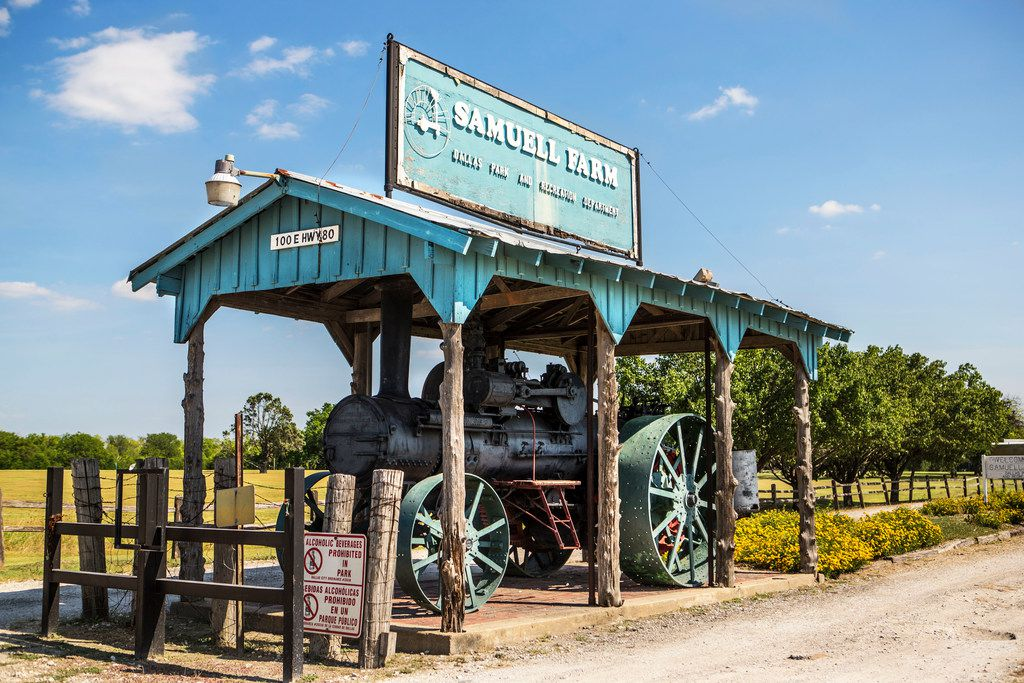 Samuell Farm sits in Mesquite even though it belongs to the city of Dallas. (Carly Geraci/Staff Photographer)
