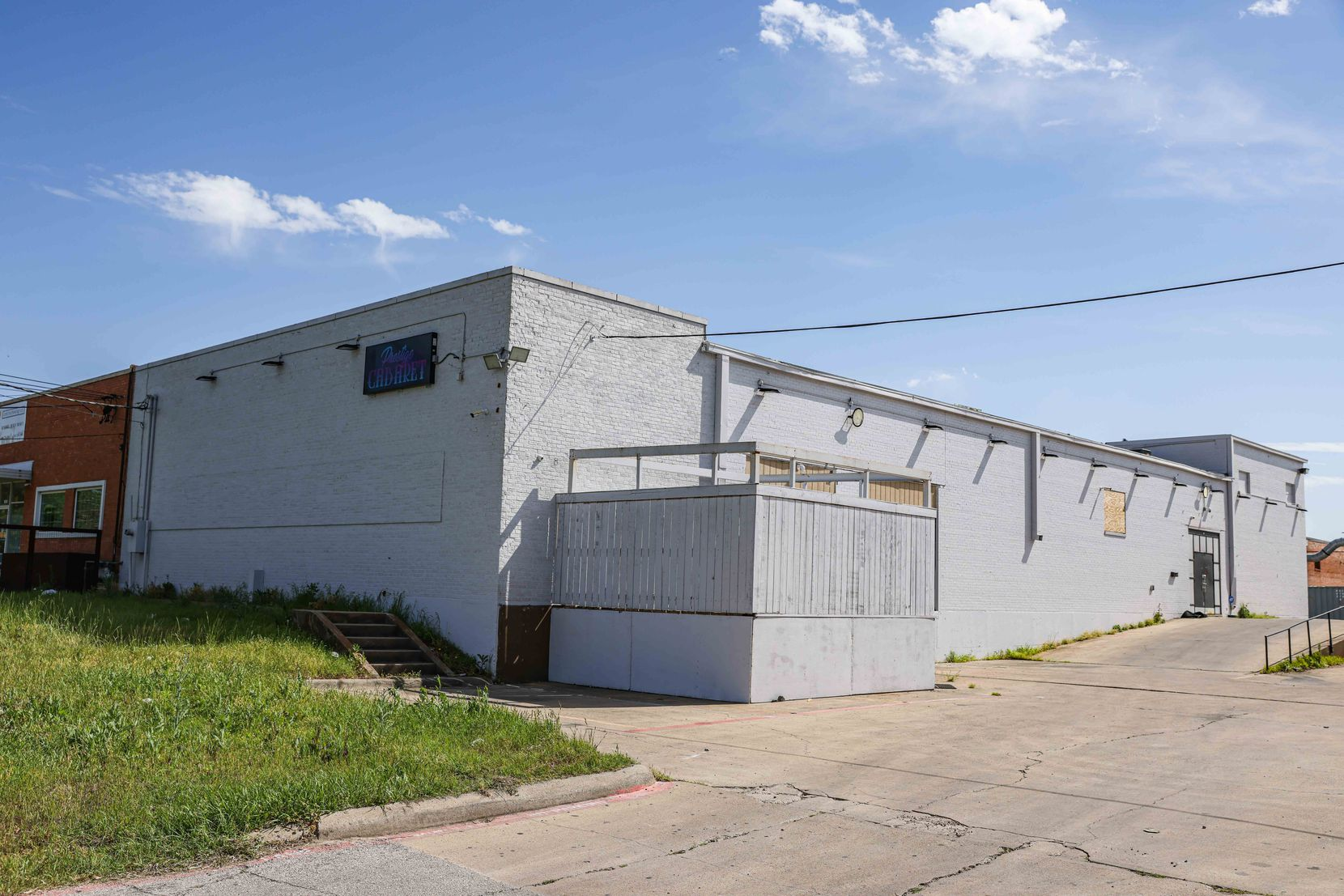 A property on Sovereign Row in northwest Dallas used to be a strip club called Black Diamonds. It was the target of an attempted arson in 2016.