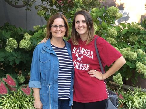 Tracy Matheson (left) stands with her daughter Molly Jane, who was raped and murdered in 2017. Her daughter's death motivated Matheson to created Project Beloved, a Fort Worth-based nonprofit designed to educate people and help survivors of sexual assault.