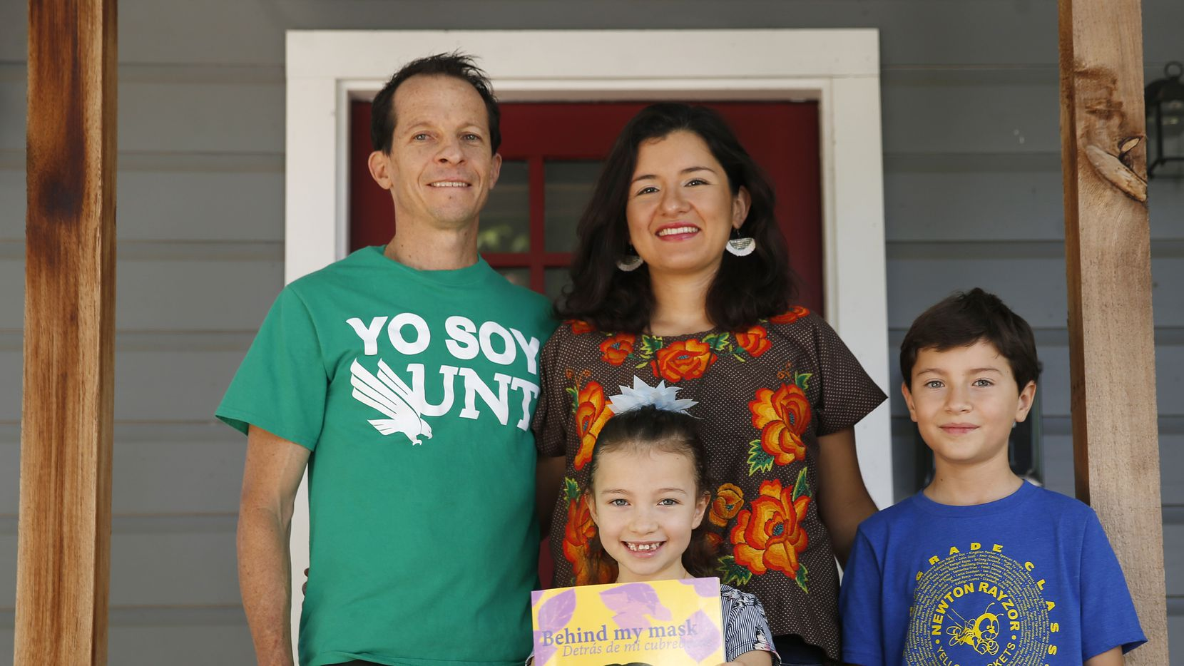 Dan Heiman and his wife, Martha Samaniego Calderón, self-published a book to help children — including their own kids, 7-year-old Natalia and 11-year-old Nicolás — cope with the fears of the COVID-19 pandemic.