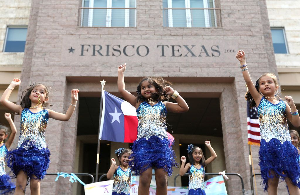 Young dancers perform during the Global Village Frisco event in Frisco, Texas, Saturday, September 15, 2018. (Anja Schlein/Special Contributor)