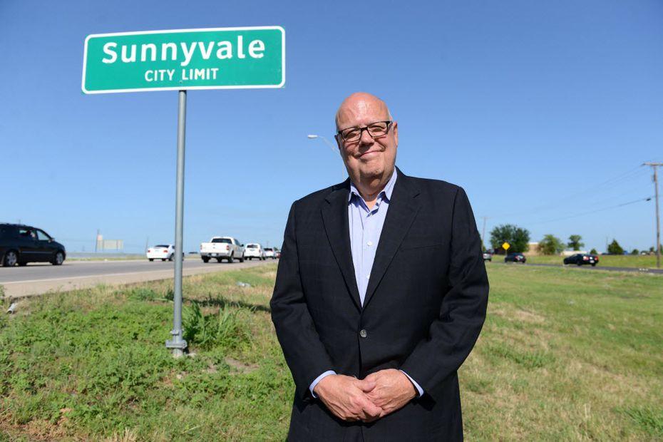 Sunnyvale Mayor Jim Phaup