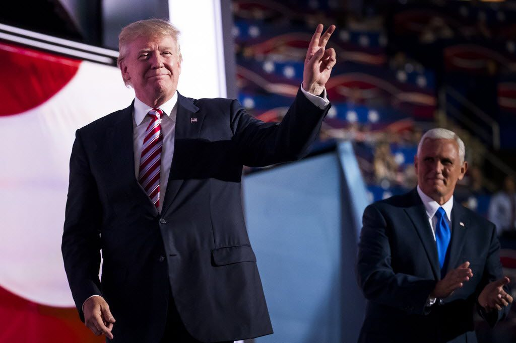 Donald Trump takes center stage Thursday night as the Republican nominee for president.