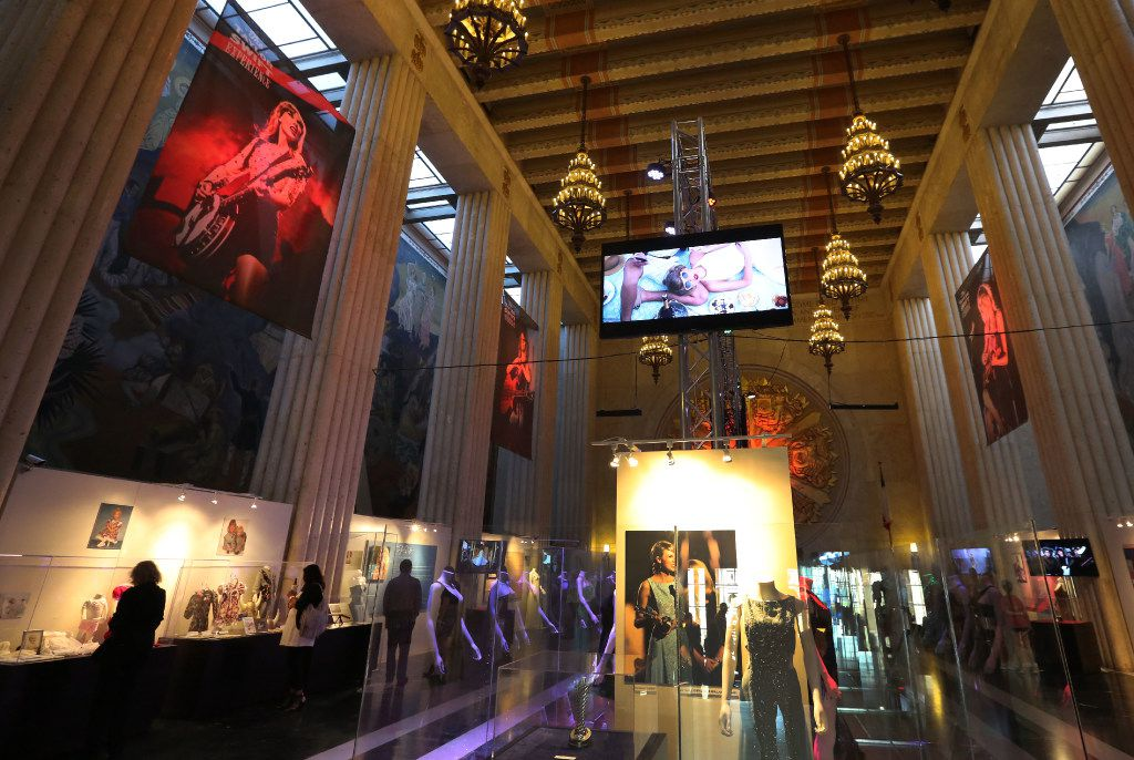 The Taylor Swift Experience, a new exhibit at this year's State Fair of Texas, photographed at the Hall of State Building in Fair Park in Dallas on Wednesday, September 28, 2016. (Louis DeLuca/The Dallas Morning News)