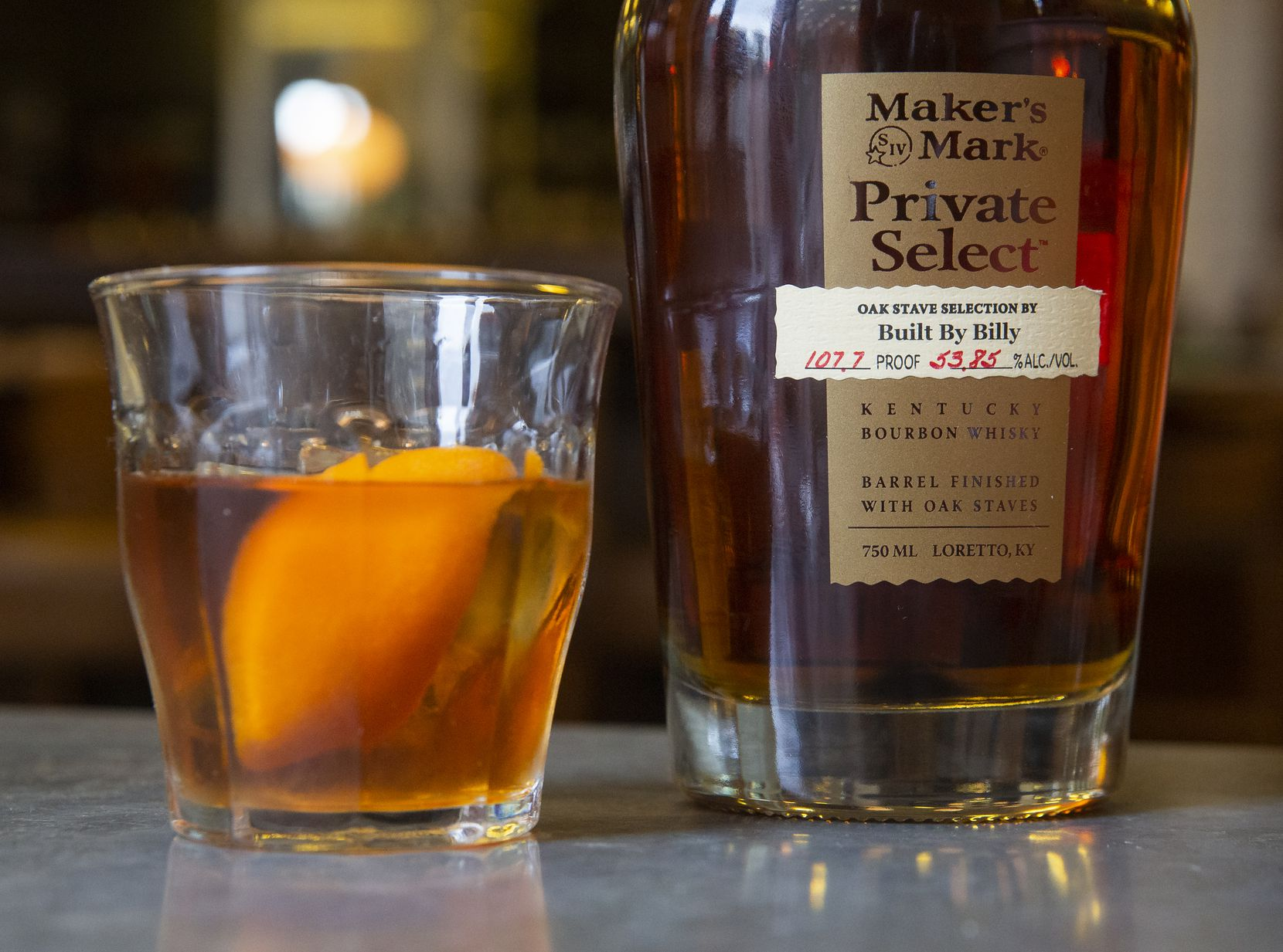 The Maker's Mark Private Select Old Fashioned at Billy Can Can