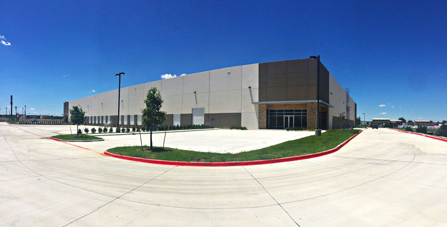 National Container Group LLC has leased the 120,960-square-foot Intermodal Business Center.
