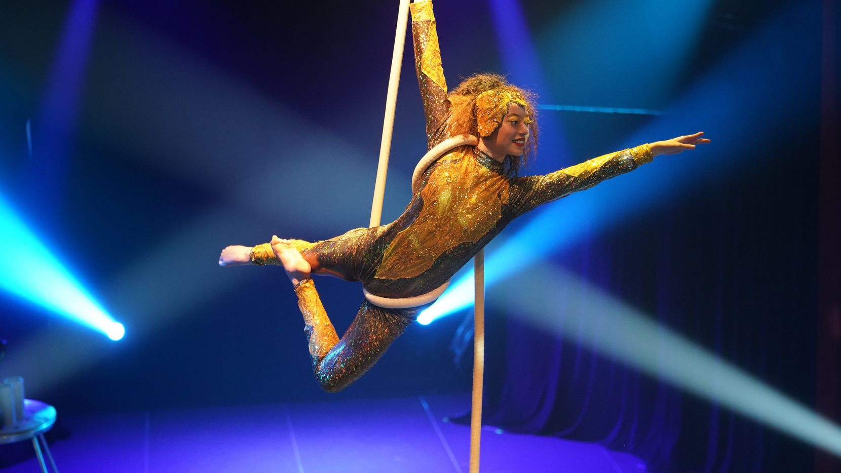City of McKinney presents Omaggio, a Lone Star Circus production, in historic downtown McKinney from Oct. 14-17, 2021.