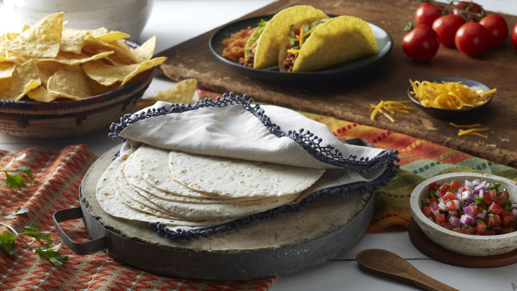 Productos de Rudy's Tortillas de Dallas.((Cortesia: Teasdale Latin Foods))