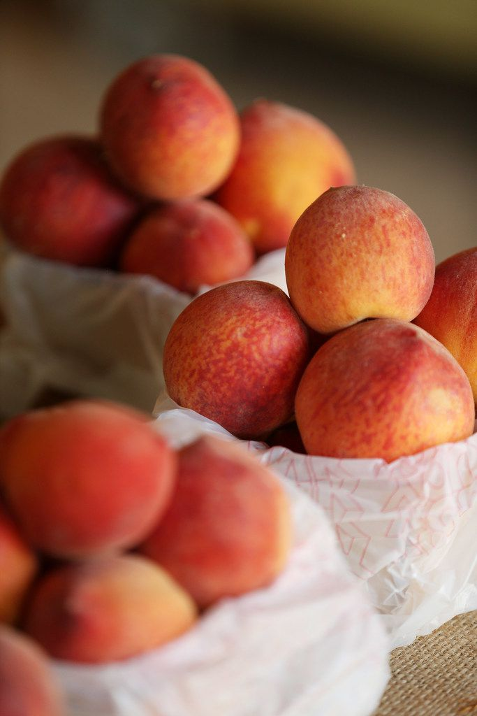 Texas peach season's winding down, though there might still be fresh peaches available at farmers markets into September.