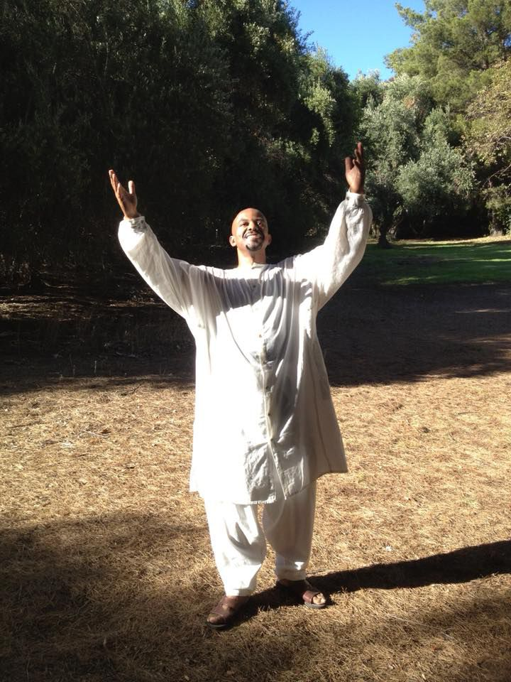 David Joyner is tantra healer and sees two to four female clients weekly in his California practice.