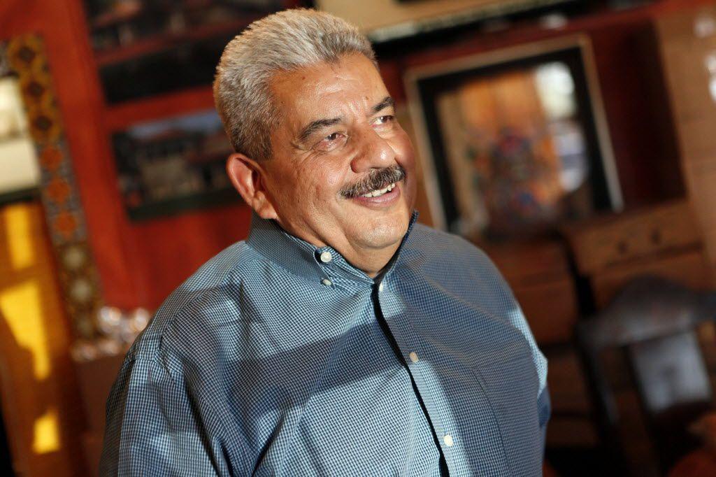 Fernando Luna, owner of Luna's Tortilla Factory, on Nov. 19, 2015 in Dallas.