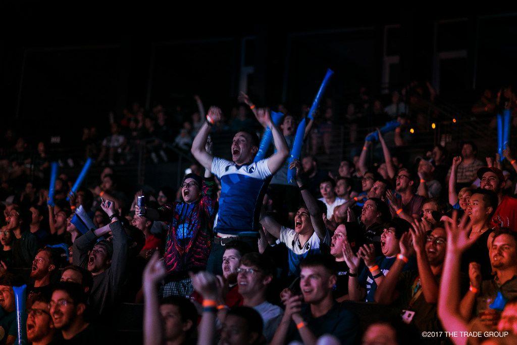 eSports   Fans celebrate at the  ESL Pro League CS:GO tournament at the Verizon Theatre on Sept. 6, 2017.